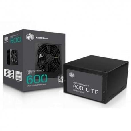 Fuente de poder de 600 w Reales Cooler Master