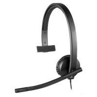 Diadema con microfono USB Logitech H570 e