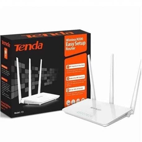 Router Tenda F3 de 3 antenas