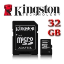 Memoria Kingston Micro SD 32 GB
