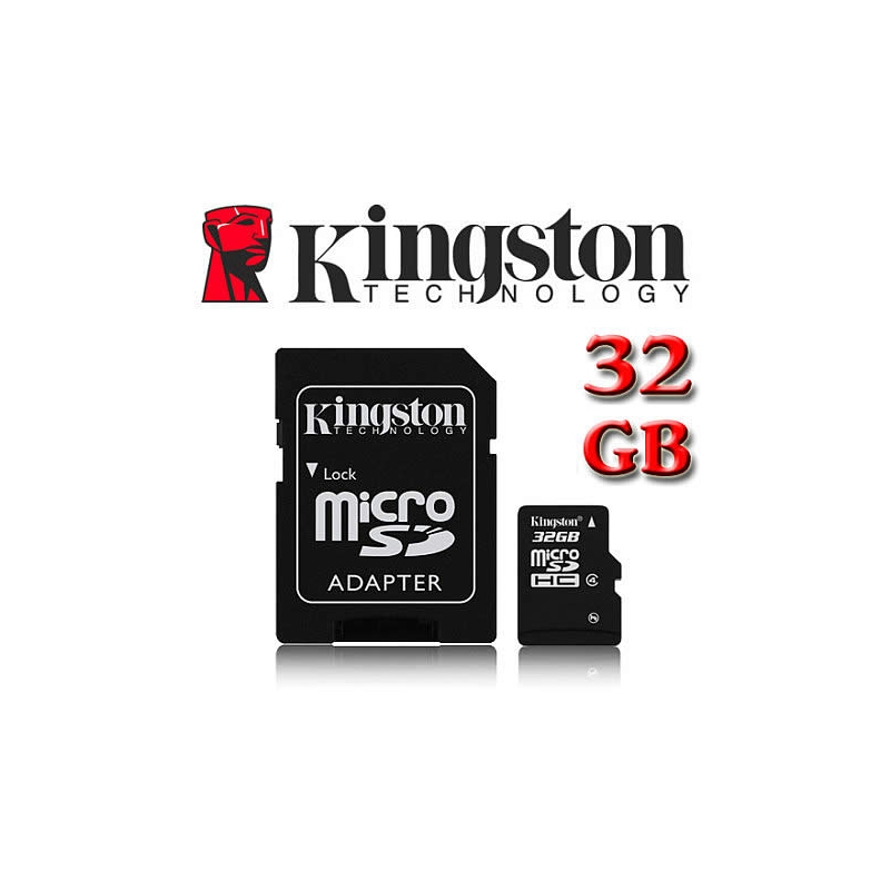 memoria kingston micro sd 32 gb. Black Bedroom Furniture Sets. Home Design Ideas