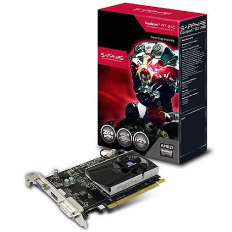 Tarjeta de video RADEON 2 GB DDR3 R7 240
