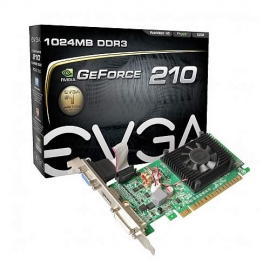 Tarjeta de Video EVGA de 1 GB Geforce 210