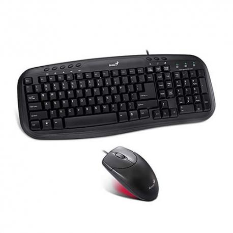 combo teclado +mouse KM200