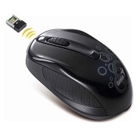 Mouse Inhalambrico negro NX7010