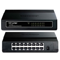 Switch TP-Link 16 Puertos 10/100 Para escritorio