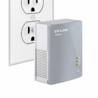 Adaptador Powerline Nano AV500T marca TP-Link Ref.