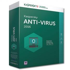 Antivirus licencia para 1 Usuario Kaspersky