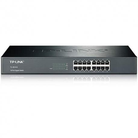 Switch de 16 Puertos TP-Link TL-SG-1016 para Rack