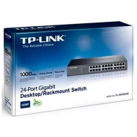 Switch TP-Link 24 Puertos 10/100/1000 - Rack TL-SG1024