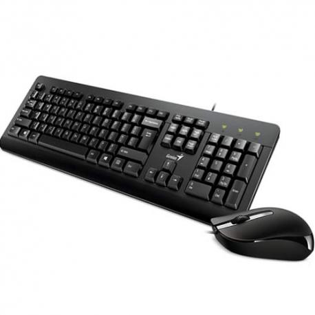 Combo teclado mas mouse (Cable) KM-160 Genius