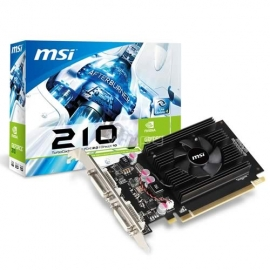 Tarjeta de video 1GB 210 MSI