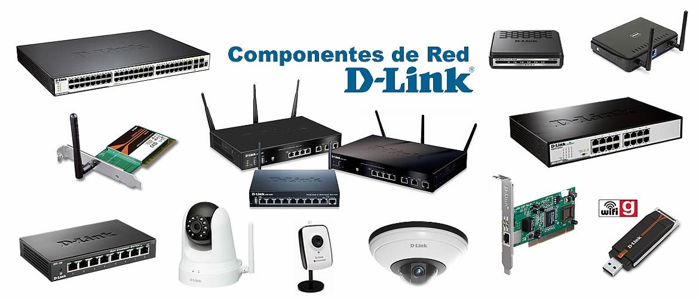 Componentes de Red D-Link