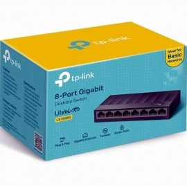 Switch de 8 Puertos Gigabit TP Link LS1008G