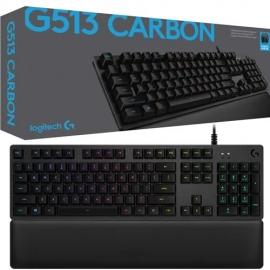 Teclado gamer mecánico Logitech G513