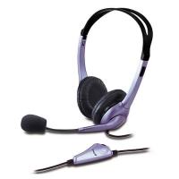 Diadema con micrófono en un solo plug Genius HS-04S