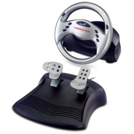 Timón Genius para juegos con vibración Speed Whell 3