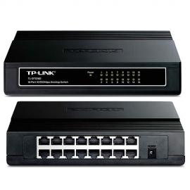 Switch TP-Link 16 Puertos 10/100 Para escritorio