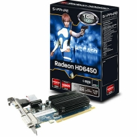 Tarjeta de video 1 GB DDR3 LP 6450