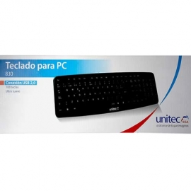 Teclado Unitec USB 830