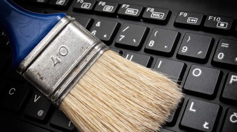 Desinfectar los teclados de los portátiles
